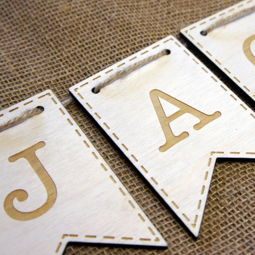 Wooden Baby Bunting - an ideal newborn gift