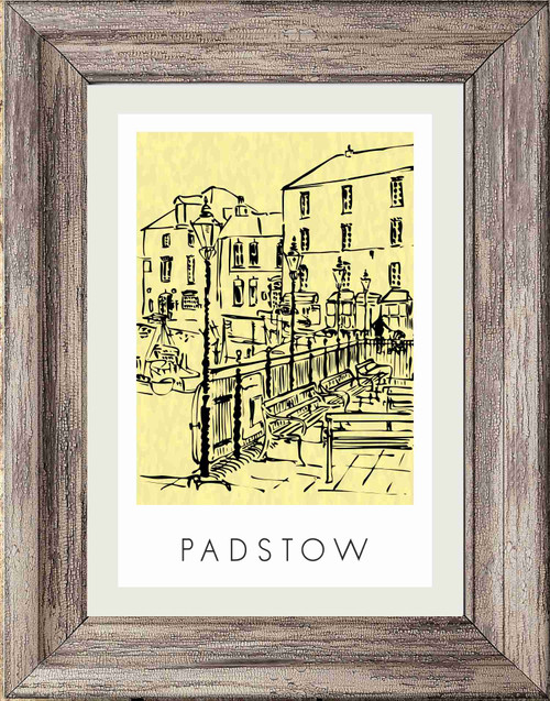 Bandstand Padstow, Cornwall - Poster Print