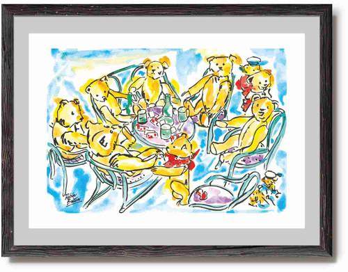 Teddy Bear's Tea Party - Print / Poster