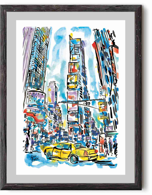 Times Square, Manhattan, New York - poster print