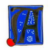 Museum of the Bible Exclusive Initial Pin - Letter A