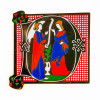 Museum of the Bible Exclusive Initial Pin - Letter D