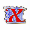 Museum of the Bible Exclusive Initial Pin - Letter X