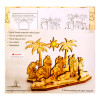 Nativity Set with Star Wooden Puzzle Kit