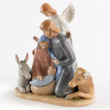 Angel with Holy Family Figurine