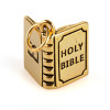 Gold Plated Bible Charm