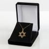 Diamond Cut Star of David Pendant