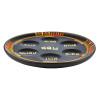 Dark Wood Pharonic Seder Plate