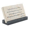 """""""Do Not Fear"""" Isaiah 41:10 Promise Stone"""