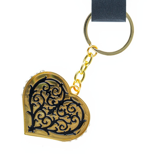 Traditional Heart Key Ring