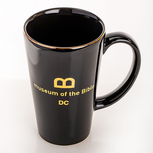Gold Rim Tall Mug | Museum of the Bible