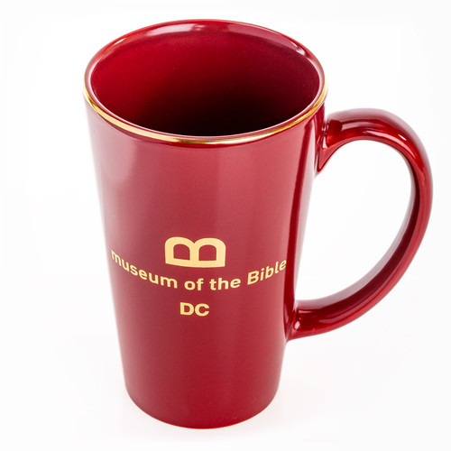 Gold Rim Tall Mug | Museum of the Bible