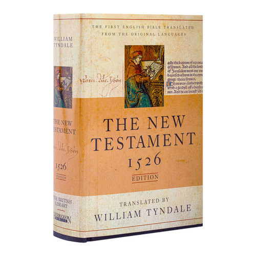 The New Testament 1526 edition translated by William Tyndale