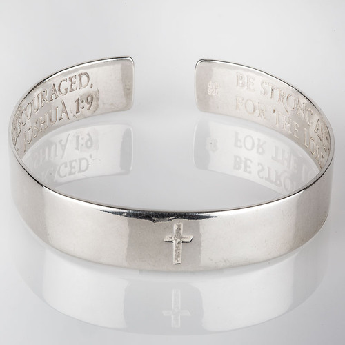 Be Strong and Courageous Bracelet