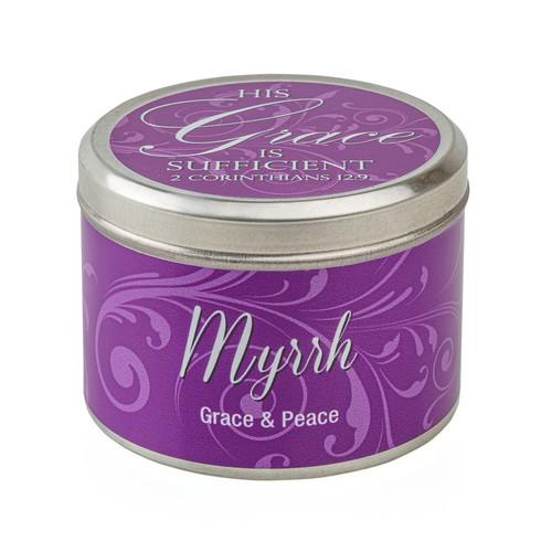 Myrrh-Scented Candle