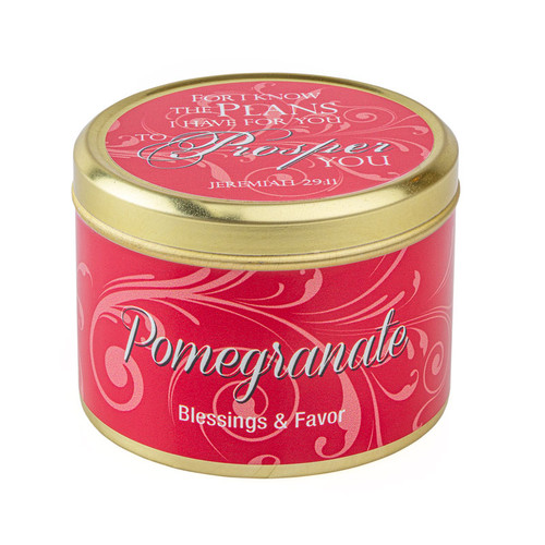 Pomegranate-Scented Candle