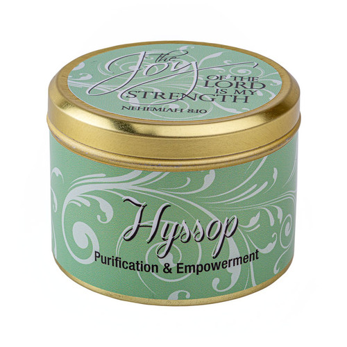 Hyssop-Scented Candle