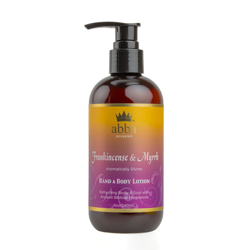 Frankincense and Myrrh Hand and Body Lotion