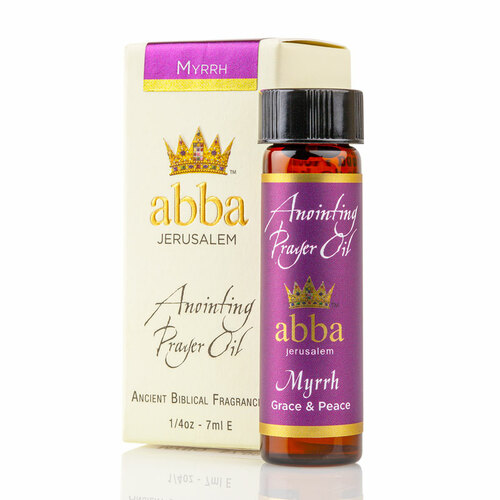 Myrrh Anointing and Prayer Oil - 1/4 oz | Museum of the Bible