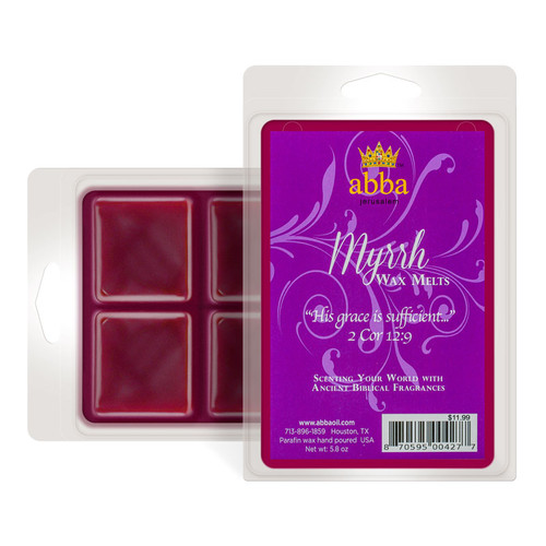 Myrrh-Scented Wax Melts