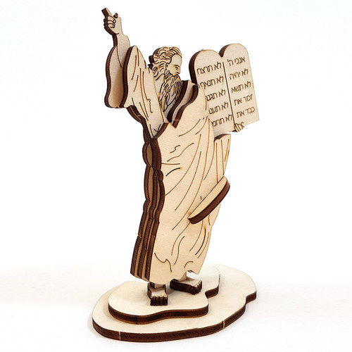 Moses and the 10 Commandments Wooden Puzzle Kit