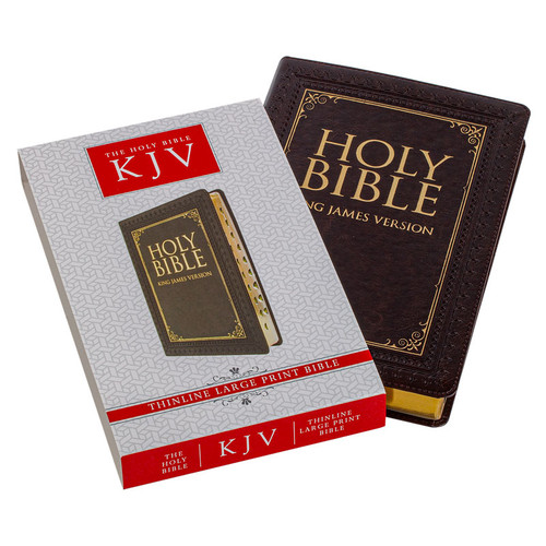 The KJV Thinline Large Print Bible