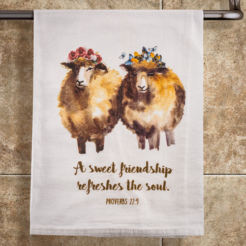 Sweet Friendship Towel