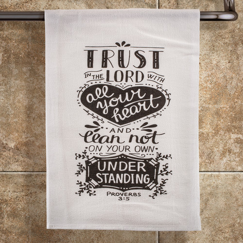 Trust with All Your Heart Towel