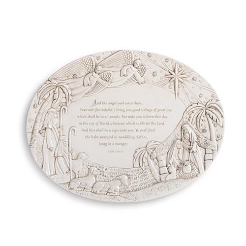 Nativity Serving Platter