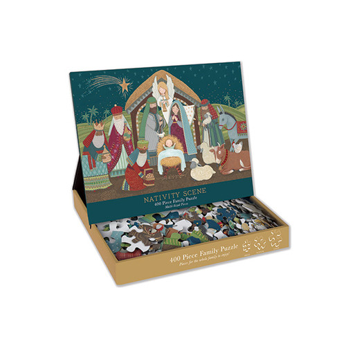 Nativity 400-Piece Family Puzzle