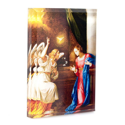 The Annunciation Paperweight