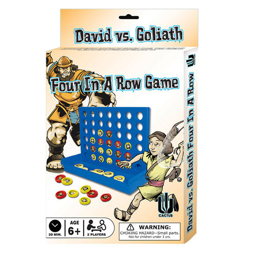 David vs. Goliath Four In A Row Game
