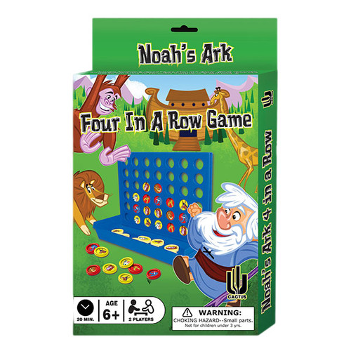 Noah's Ark Four in a Row Game