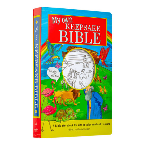 My Own Keepsake Bible with Coloring Pages