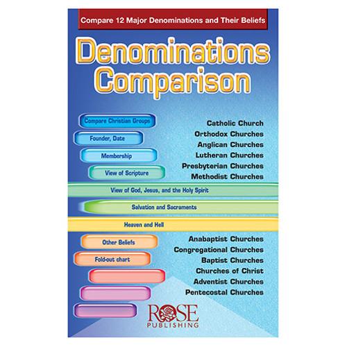Denominations Comparison Pamphlet
