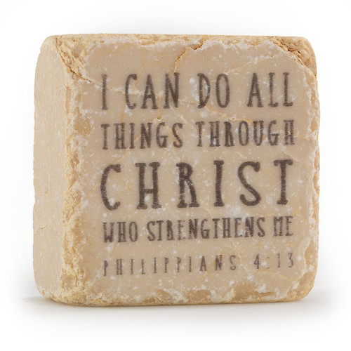 Philippians 4:13 Decorative Stone