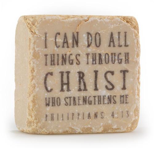 Philippians 4:13 Decorative Stone