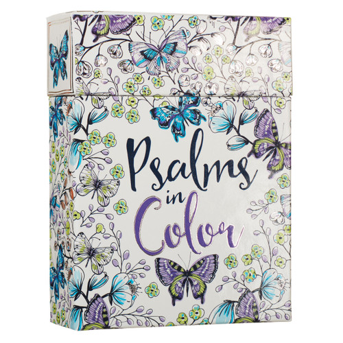 Coloring Note Cards — Psalms in Color