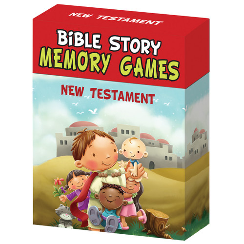 Bible Story Memory Games: New Testament