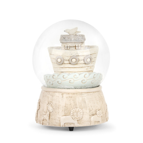 Noah's Ark Musical Snow Globe