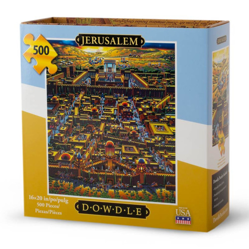 Jerusalem Jigsaw Puzzle - 500 Pieces