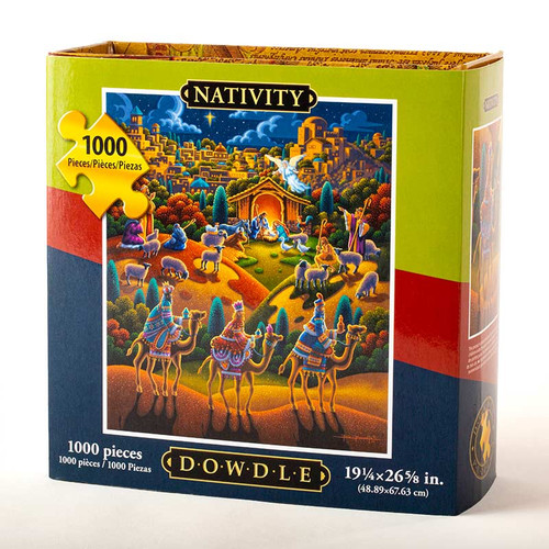 Nativity Jigsaw Puzzle - 1000 Pieces