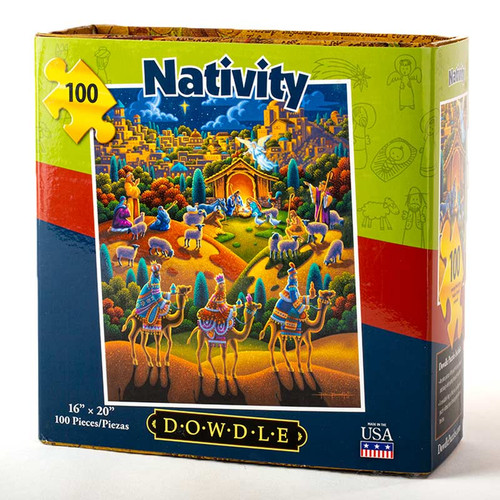 Nativity Jigsaw Puzzle - 100 Pieces