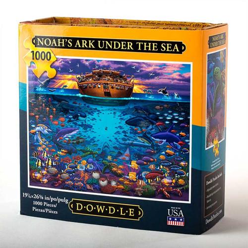 Noah's Ark Under the Sea Jigsaw Puzzle - 1000 Pieces