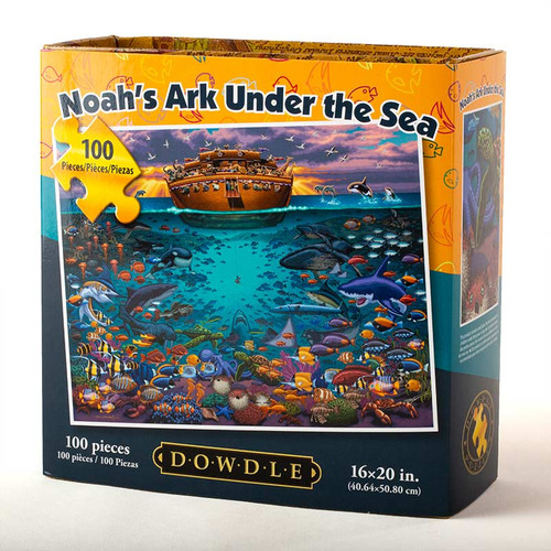 Noah's Ark Under the Sea Jigsaw Puzzle  - 100 Pieces