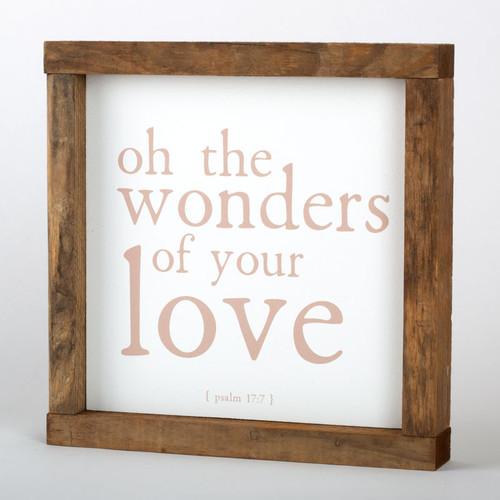 "Wonders Wall Art Frame | 8"" × 8"""
