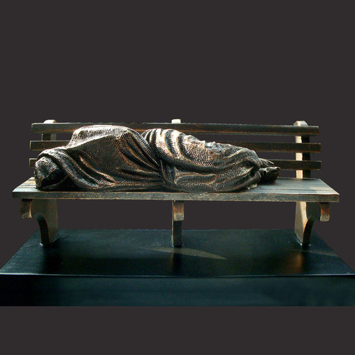 Homeless Jesus Sculpture