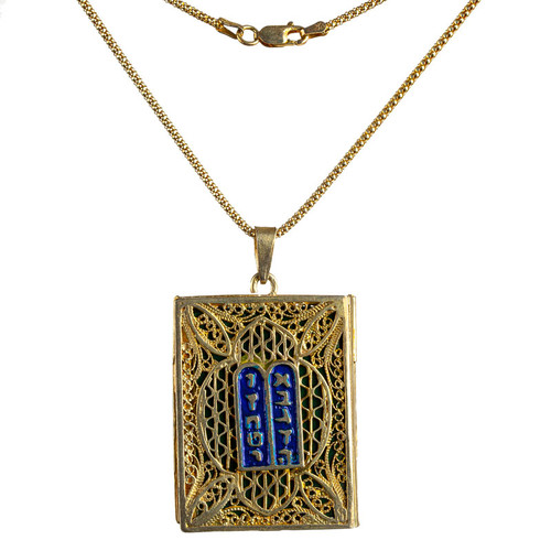 Ten Commandments Locket