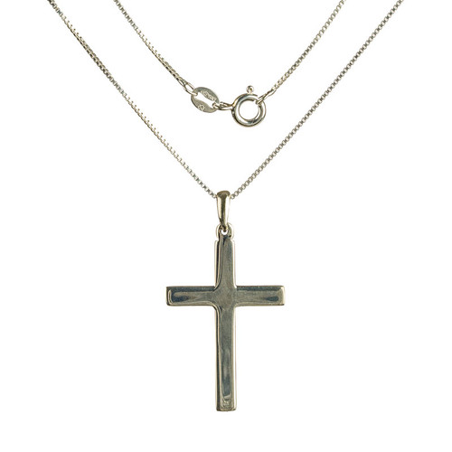 Flat Cross Pendant
