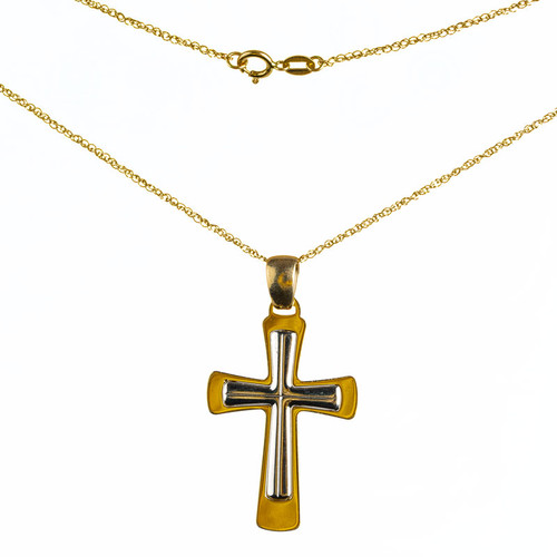 Cross Within A Cross Pendant